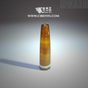 药师佛琉璃级老天珠(M) -6232