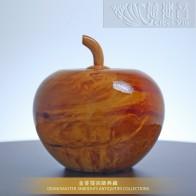 金蘋果聚寶盆(大)~金菩提宗師典藏品