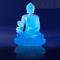 殊勝琉璃藥師佛像-天藍色(大)
