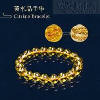 黃水晶手串-10mm