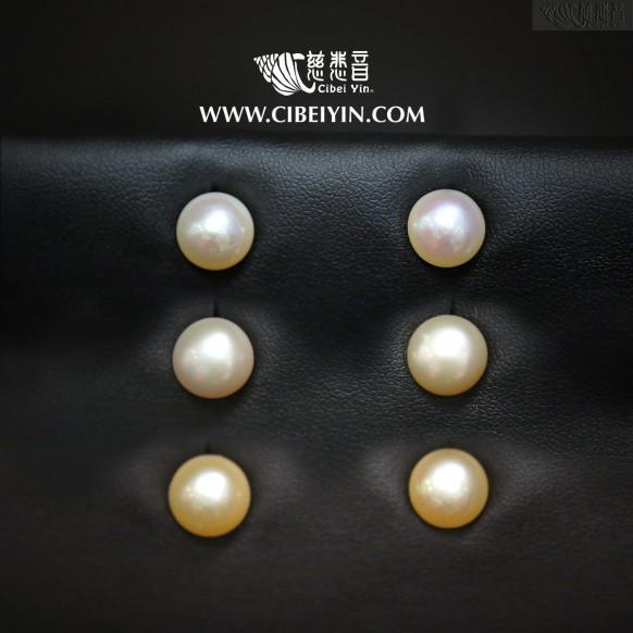 珍珠耳環-大