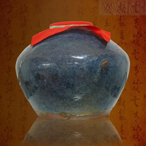 清代陶瓷老茶罐