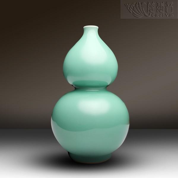 青瓷葫芦宝瓶