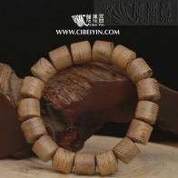 鸡翅木桶珠手串(12mm)