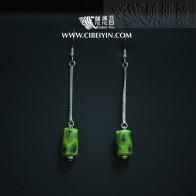 琉璃耳环416-18