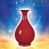 霁红福慧宝瓶
