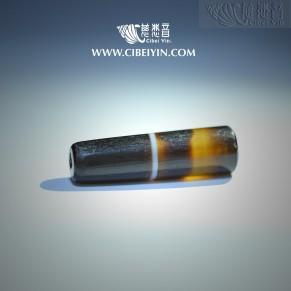 药师佛琉璃级老天珠(M) -236