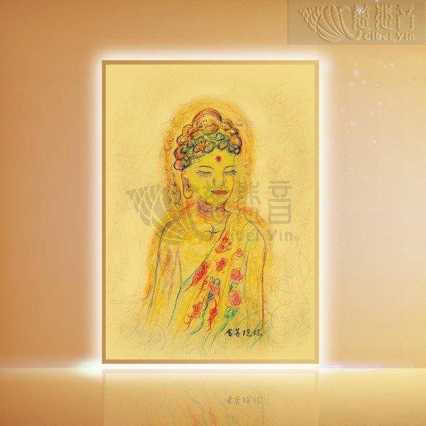 Grandmaster JinBodhi's Artworks- Buddha: A Delicate Portrait
