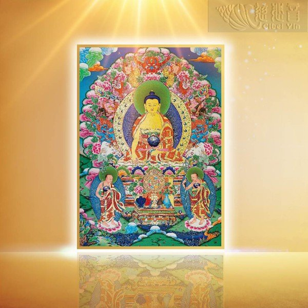 Sakyamuni Buddha Thangka(big)