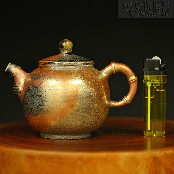Grandmaster JinBodhi Style Taiwan Hand-made Wood-fired Teapot-08