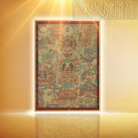 The Life of Sakyamuni Buddha Thangka(Medium)