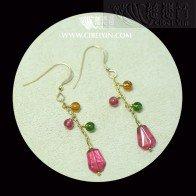 Spring Cherry Earrings