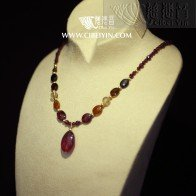 Rose House Necklace