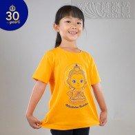 """Kids' Cartoon Medicine Buddha T-Shirt - """"Celebrating 30 Years of Bodhi"""" Series"""