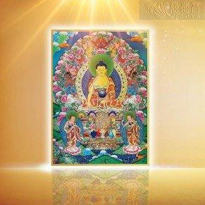 Sakyamuni Buddha Thangka(Small)